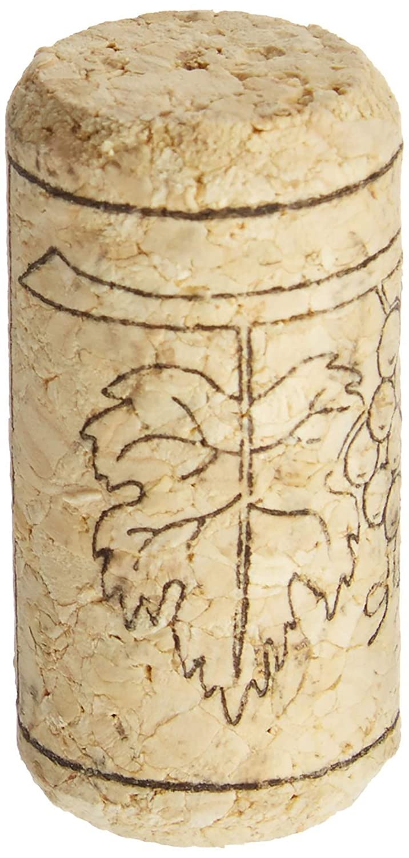 Justdolife 30PCS Tap/óN De Botella De Vino con Patr/óN De UVA De Corcho De Vino con 30 Tapas Retr/áCtiles