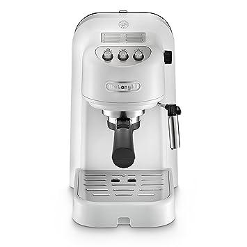 W - Cafetera (Independiente, Color blanco, Sistema de cápsulas, De café molido, Capuchino, Café expreso, 1,1L): Amazon.es: Hogar
