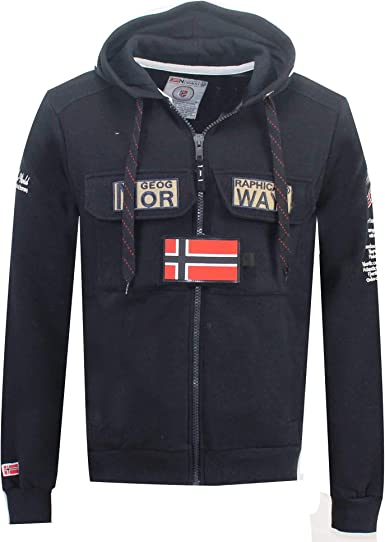 Geographical Norway Sweat Homme: : Vêtements et