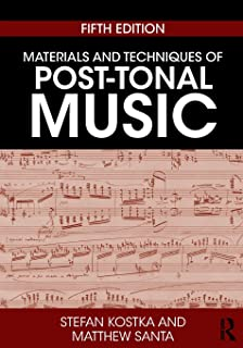 Materials and techniques of post tonal music stefan kostka materials and techniques of post tonal music fandeluxe Choice Image
