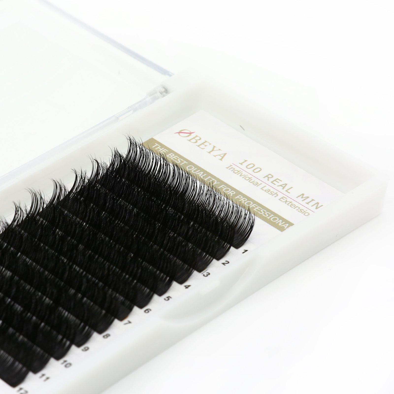 Amazon 3d Mink Fur Eyelash Extensions Individual Mink Lashes