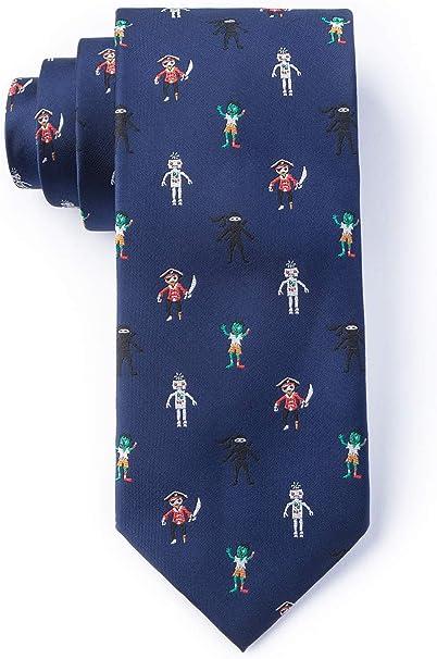 Zombie, Pirate, Ninja, Robot Tie