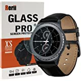 Samsung Gear S2 Classic Screen Protector, Rerii [ 2-Pack] Tempered Glass Screen Protector for Samsung Galaxy Gear S2 Classic, High Definition,9H Hardness, 0.3mm Thickness, Delicate Touch