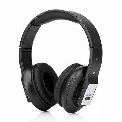 Gaming Headset Inalámbrico, Bluetooth Overhead Auriculares Surround Cancelación De Ruido Con Micrófono Para PC/
