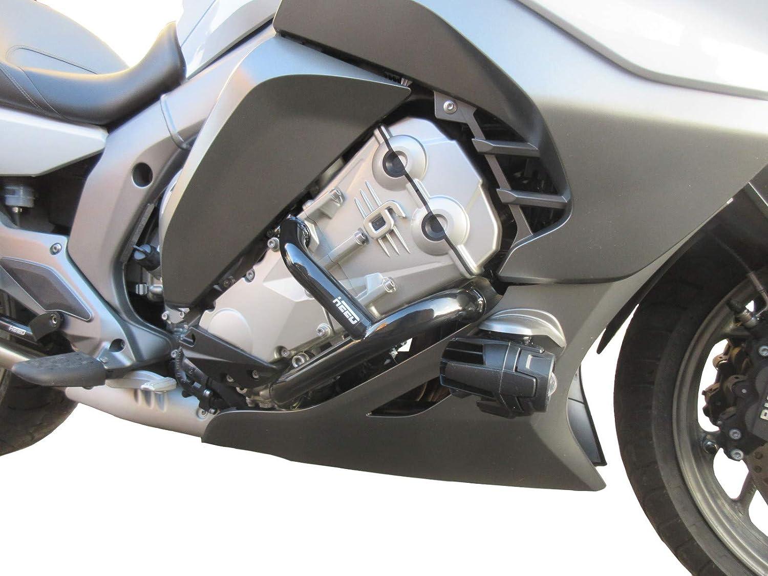 negro - Basic 2017 - Defensa protector de motor Heed K 1600 GT//GTL