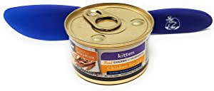SIMPLY NOURISH Source Wet Cat Food Kitten Chicken Recipe, Tender Morsels 3oz (Pack of 12) and Especiales Cosas Spatula