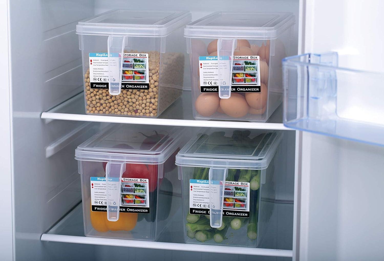 Kühlschrank Organizer : Hapileap kühlschrank organizer küche frischhaltedose mit deckel