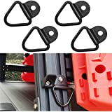 MOEBULB Cargo Tie-Down V-Ring Anchors Black Steel Bolton Trailer V-Ring Tie Down for Trailers Trucks and Warehouses Replaceme