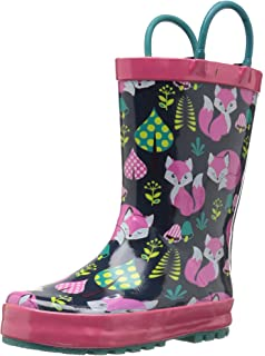 Amazon.com | Western Chief Kids' Groovy Leopard Rain Boot | Rain Boots