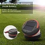 LED Camping Lantern, Brilex Solar & USB Charging