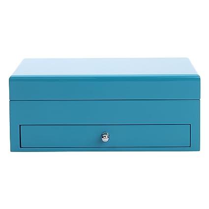 Amazoncom Reed Barton 950BLU High Gloss Finish Jewelry Box 91