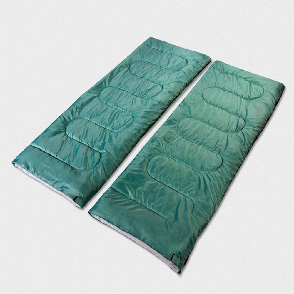 ZXQZ Saco de dormir del sobre/saco de dormir doble/saco de dormir rectangular del algodón que acampa impermeable de los adultos (180 * 140cm) Saco de dormir ...