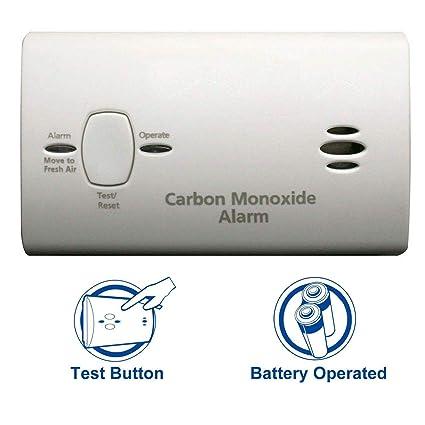 Kidde Carbon Monoxide Detector Alarm  Battery Operated   Model #  KN-COB-B-LP2