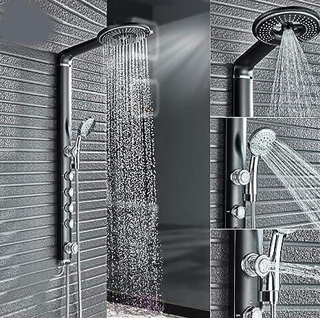 Shower system Columna de Ducha Negra Conjunto de grifos de Ducha ...