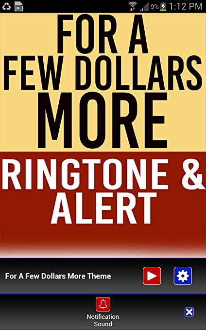 for a few dollars more ringtone free download