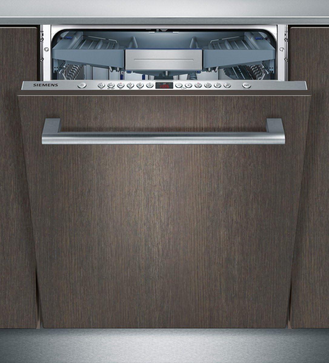 Siemens SN658X00ME lavavajilla Totalmente integrado 14 cubiertos A+++ - Lavavajillas (Totalmente integrado, Tamaño completo (60 cm), Negro, Tocar, 1,75 m, 1,65 m)