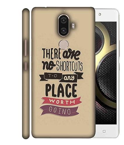 Printfidaa Lenovo K8 Plus Back Cover No Shortcuts: Amazon in