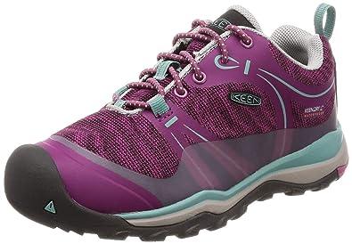 acd1bd5c5ab0 Keen Unisex Terradora Low WP Hiking Shoe Boysenberry RED Violet 8 M US Little  Kid