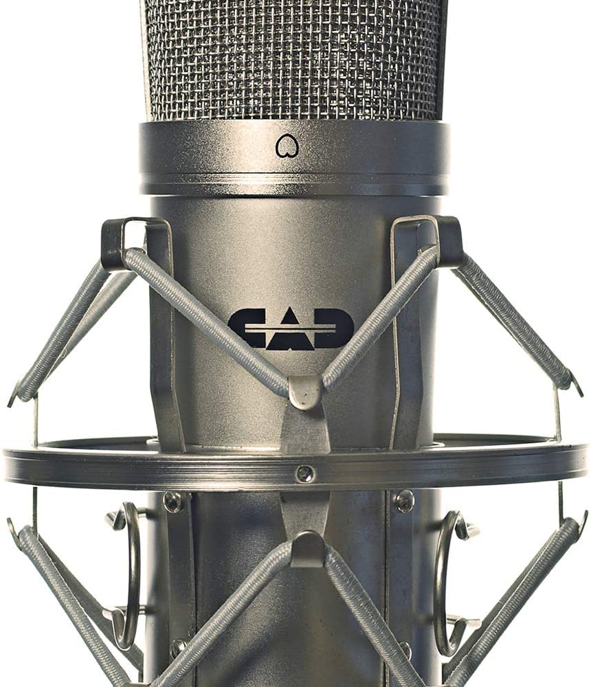 Black Chrome Finish GXL1200BP and Pop Filter Includes GXL 2200BP CAD Audio GXL2200SPBP Studio Pack