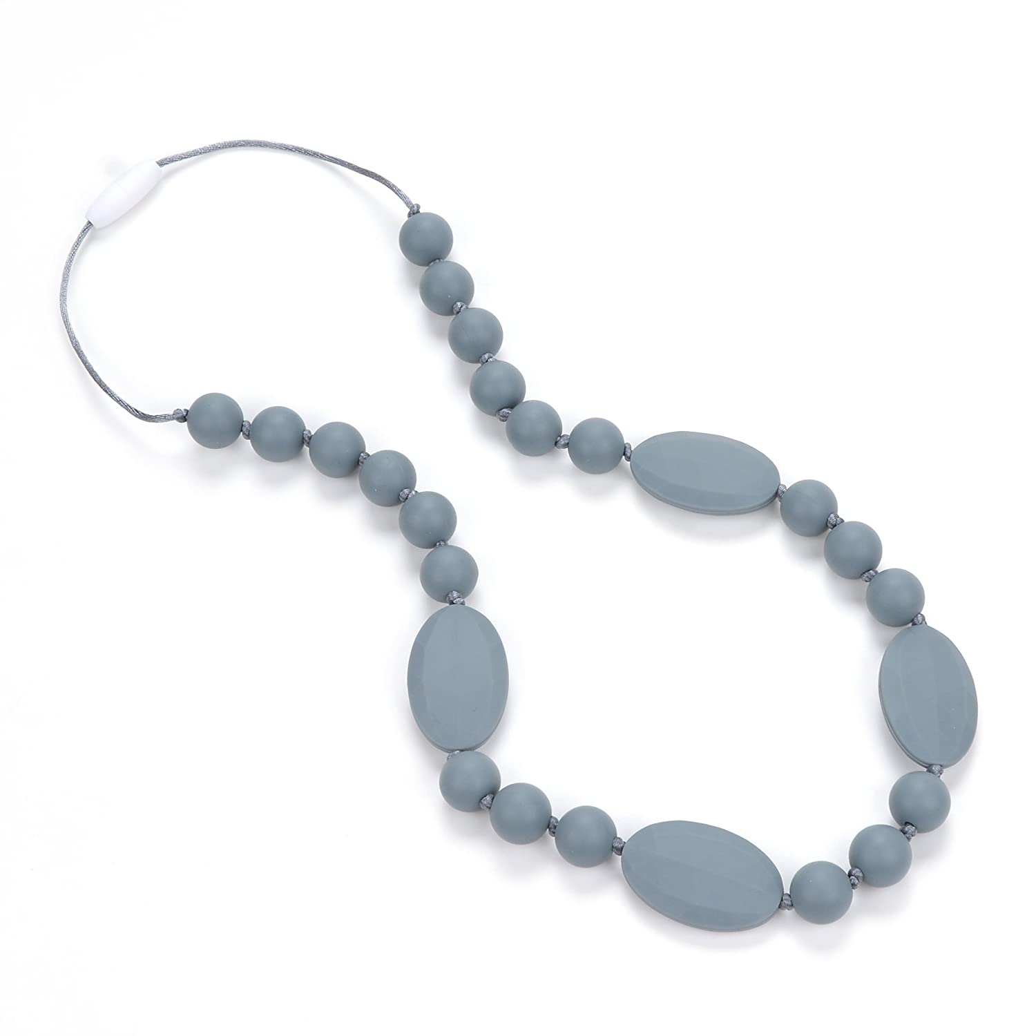 Utopia BPA FREE and FDA Approved Navajo White Consider It Maid Silicone Teething Necklace for Mom to Wear FREE E-BOOK