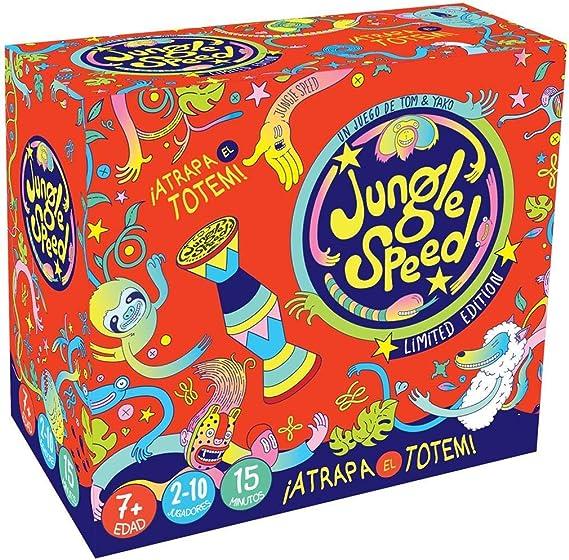 Zygomatic- Jungle Speed 2019 Edición Edouardo Bertone, Color (Asmodée JSBERT02ES): Amazon.es: Juguetes y juegos