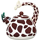 Supreme Housewares Giraffe Whistling Tea Kettle