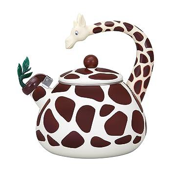 Supreme Housewares Giraffe Whistling Tea Kettle
