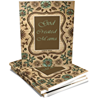 GOD CREATED MAMA: Happy Mother's Day notebook , classic beauty cover for journal Gift,160 Pages, 6X9, Soft cover, February 14, 2020 (English Edition)