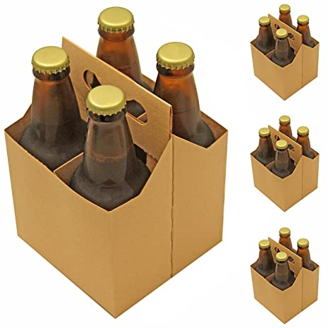 Amazon 4 pack beer carrier pack of 4 kitchen dining 4 pack beer carrier pack of 4 pronofoot35fo Gallery