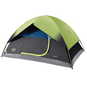 Coleman Dome Tent for Camping | Sundome Tent with Easy Setup