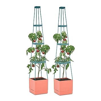 Waldbeck Tomato Tower • Tomaten-Pflanzkübel • Pflanzen-Aufzucht-Turm ...