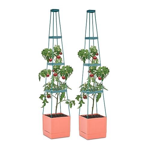 Waldbeck Tomato Tower • Tomaten-Pflanzkübel • Pflanzen-Aufzucht ...