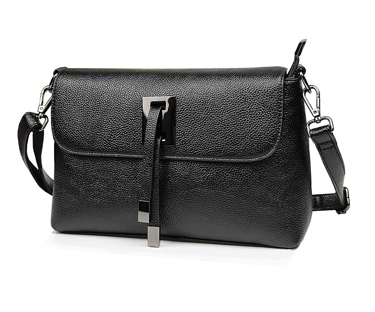 9289c66559 Amazon.com  Handbags for Women Large Designer Ladies Crossbody Bag Trendy  Shoulder Bags Tote Purse Faux Leather (Black)  Shoes
