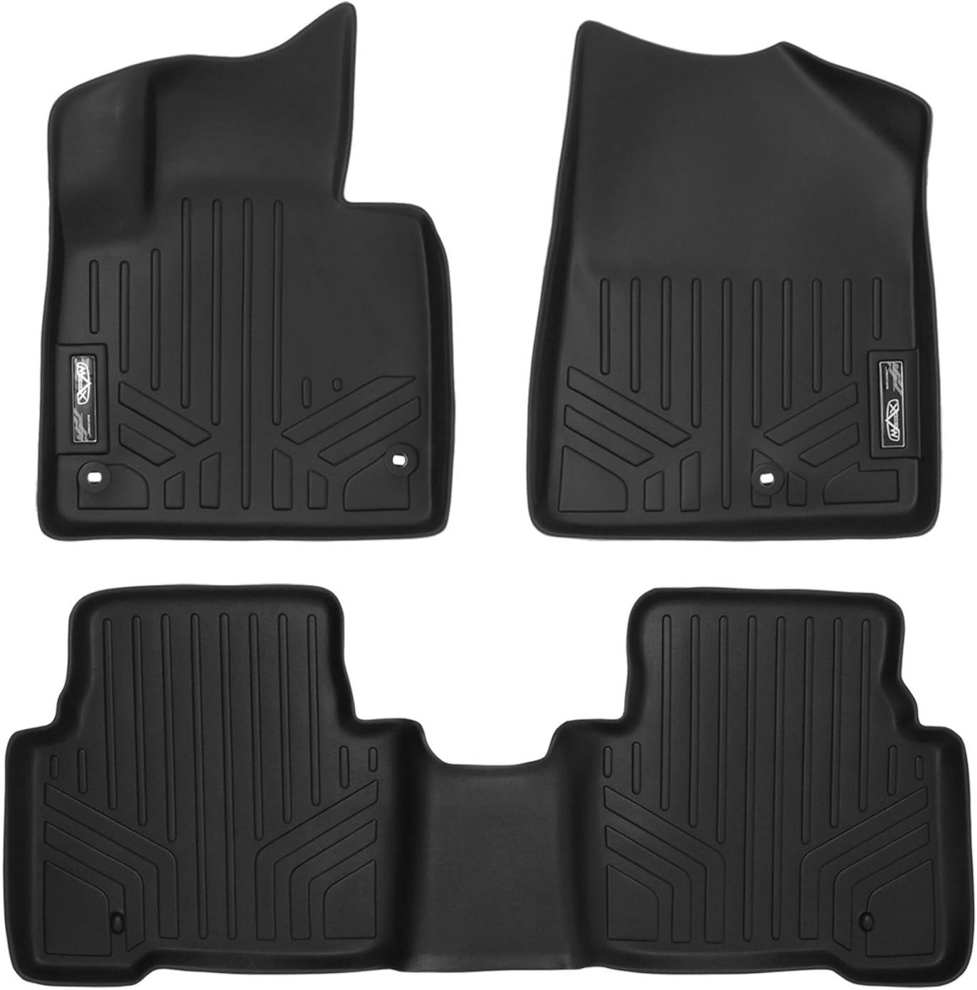 Amazon Com Maxliner Floor Mats 2 Row Liner Set Black For 2013