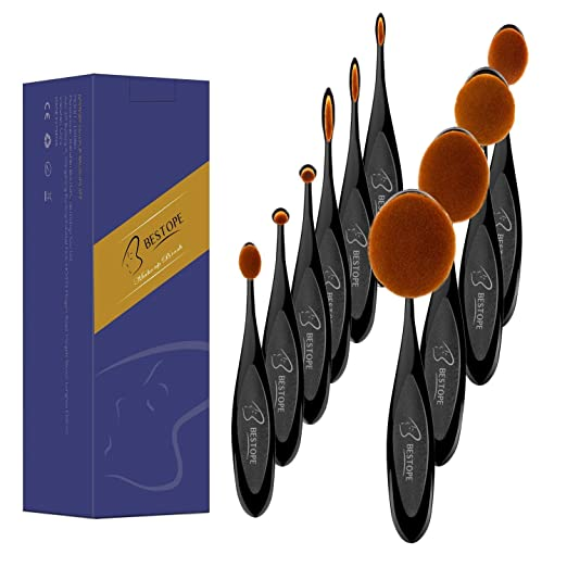 Bestope makeup brushes set of 10