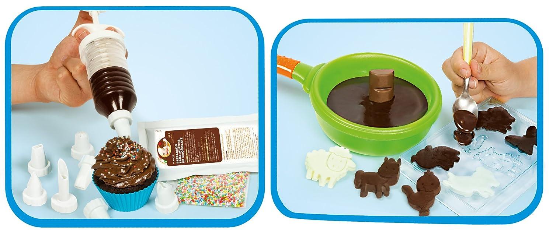 Clementoni Cocina creativa, creaciones de chocolate (65565): Amazon ...