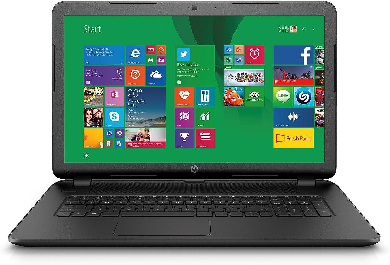 Amazon Ca Laptops Hp 17 3 17 P040ca Notebook Amd Quad Core A6 6310 Apu 4gb Ram 500gb Hdd Amd Radeon R4 Graphics Bluetooth Windows 8 1
