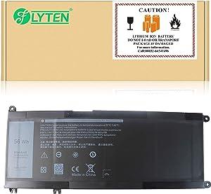 FLYTEN 33YDH Battery for Dell Inspiron 17 17-7778 17-7779 Laptop P30E P30E001 81PF3 081PF3 PVHT1 0PVHT1 15.2V 56WH
