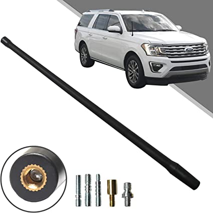 Beneges 13 Inch Flexible Rubber Replacement Antenna Compatible with 2004-2006 Chevy Colorado Optimized FM//AM Reception.