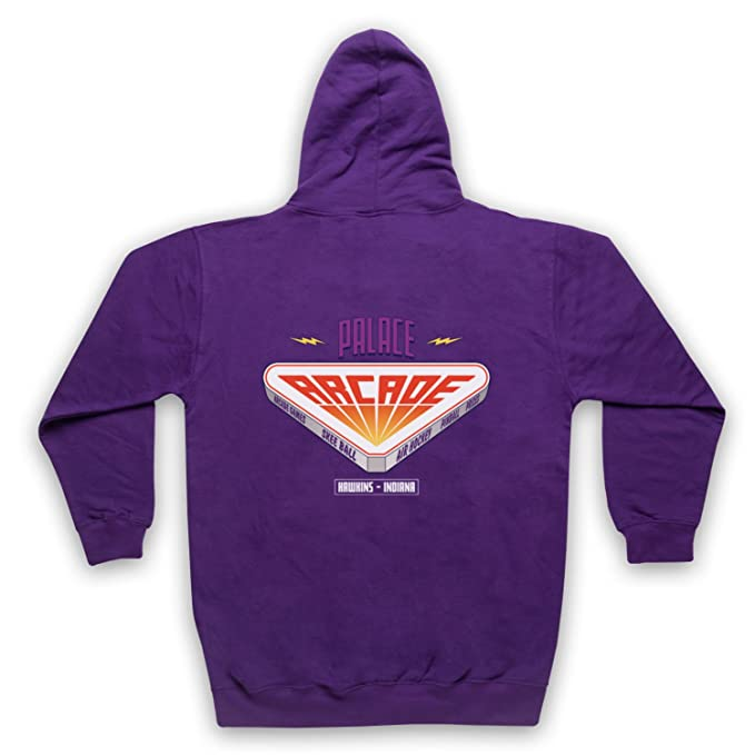 The Guns Of Brixton Stranger Things Palace Arcade Adultos Sudadera con Capucha con Cremallera, Morado, 2XL: Amazon.es: Ropa y accesorios