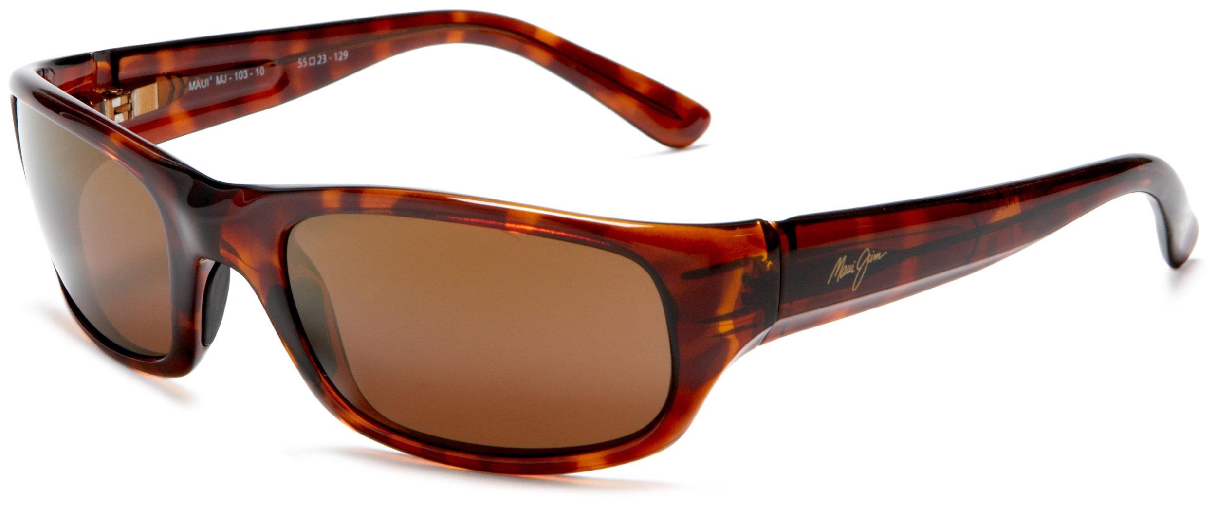 Maui Jim Stingray Polarized Sunglasses Gloss Tortoise / HCL Bronze One Size
