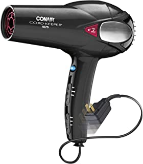 amazon com conair 1875 watt cord keeper hair dryer pink beauty rh amazon com Hair Dryer Illustration Electric Dryer Receptacle Wiring-Diagram