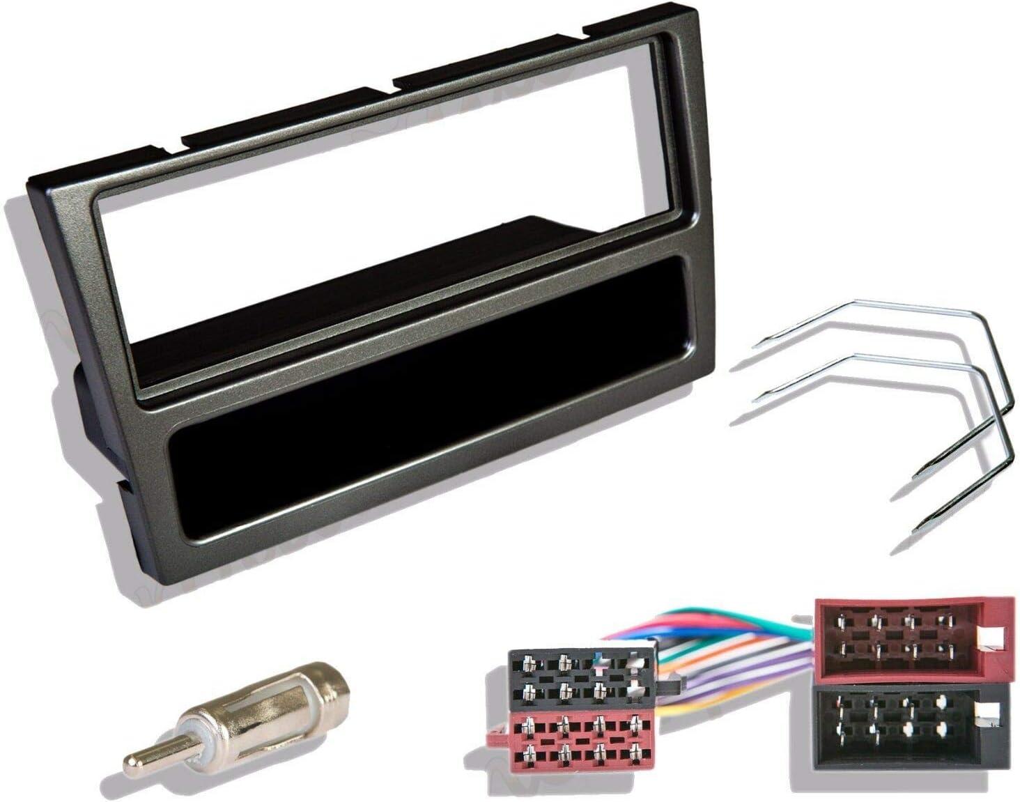 Kit de montaje de adaptador de salpicadero para radio estéreo y CD ...