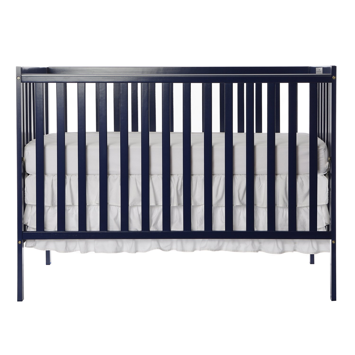 Dream On Me Synergy 5-in-1 Convertible, Crib, Royal Blue