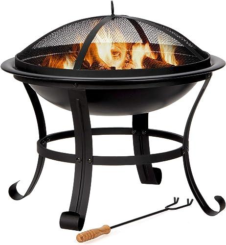 """Giantex 22"""" Outdoor Firebowl"""