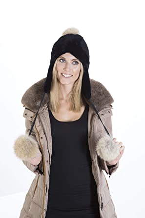 100% Beaver Hat - Made in Canada (Women s Winter Fur Hat) at Amazon ... e93ec0fd55f
