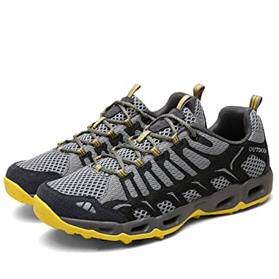 TZTONE Unisex Breathable Quick-Dry Hiking Shoes Mountaineering Shoes For Men  Women Outdoor Walking Sneakers