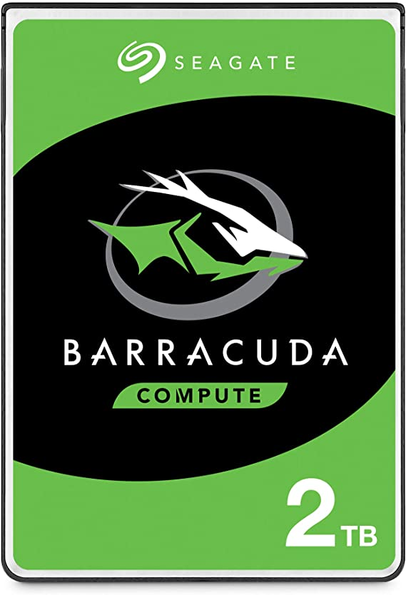 Seagate BarraCuda, 2TB, Unidad de disco duro interna, HDD, 2.5 in ...