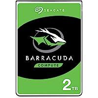 Seagate Barracuda Sata 6GB/s 128MB Cache 2.5-Inch 7mm Disco Duro Interno ST2000LM015, 2 TB para Portátil
