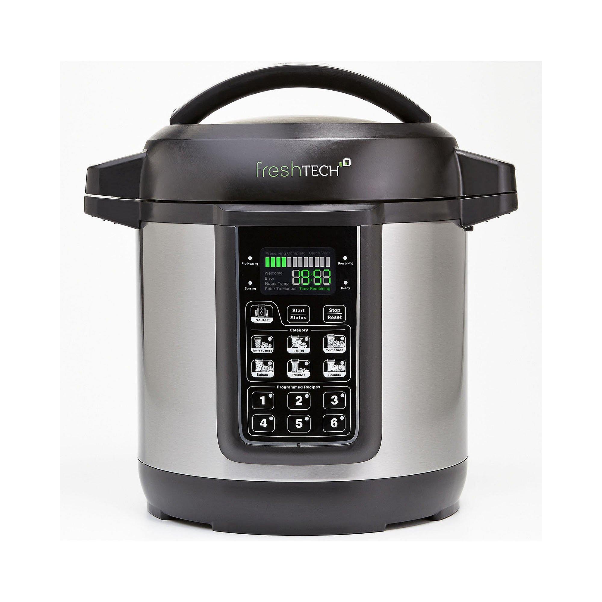 Ball FreshTech 1440035015 Auto Canning Jar, Large, Silver
